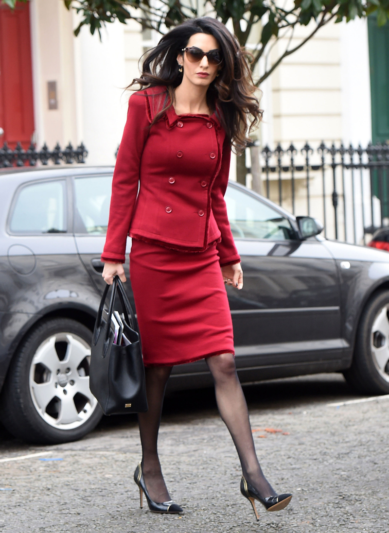 Amal Clooney: Scary-Sk...