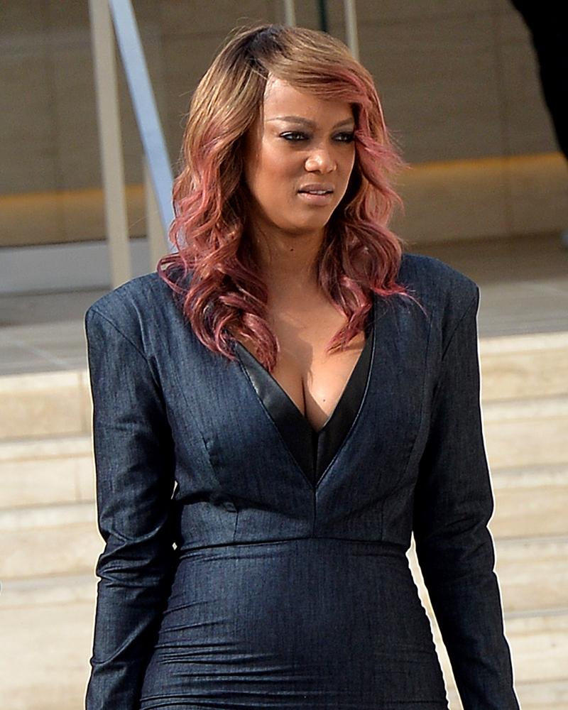 Tyra Banks Image: Tyra Banks Welcomes Her 'Miracle Baby'