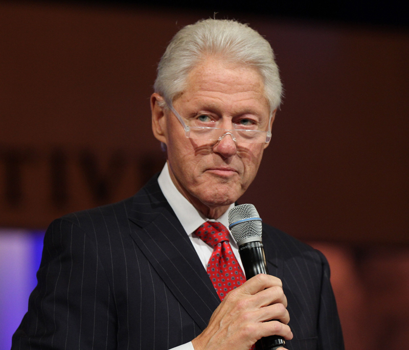 bill clinton height