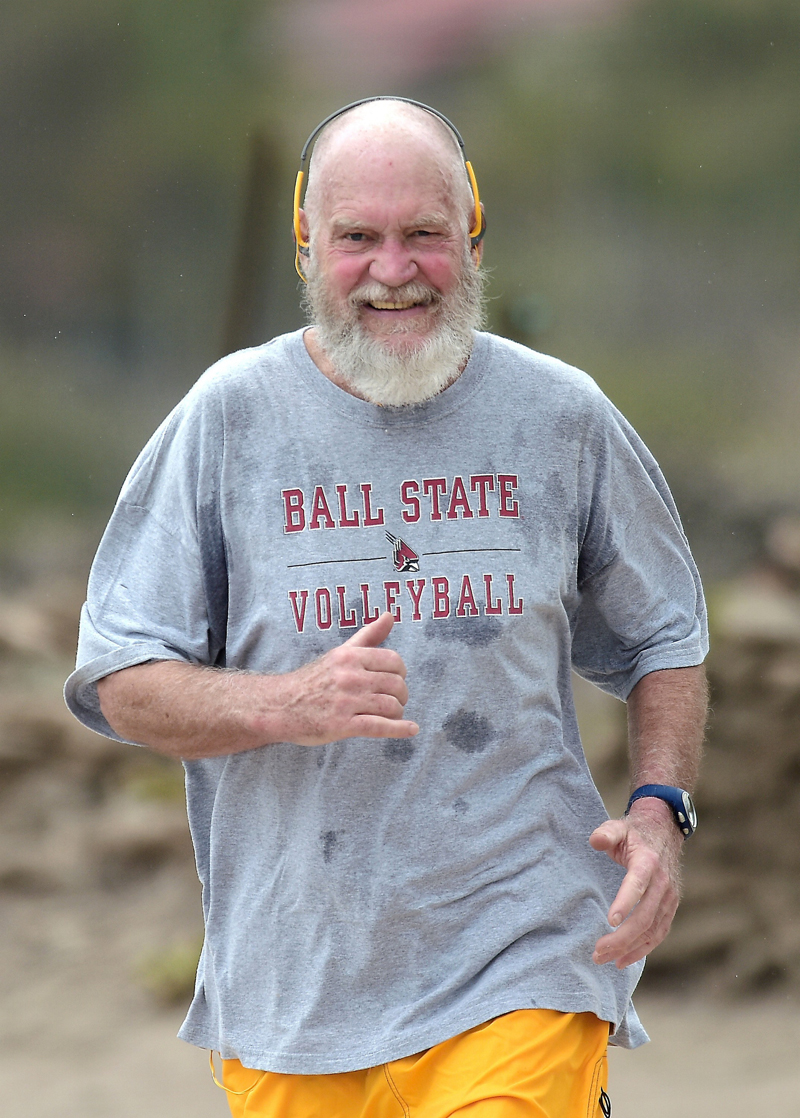 David Letterman Keeps New Beard Ditches Old Hairpiece