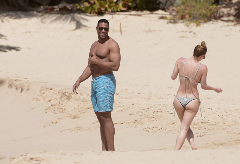 Michael Strahan Vacations With Jailbird Lover | National ... Amy Adams