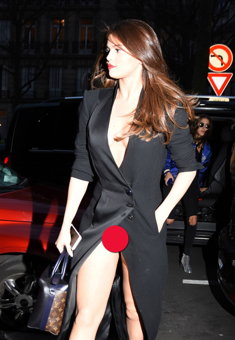 Selena Gomez Shrugs Off Wardrobe Malfunctions National