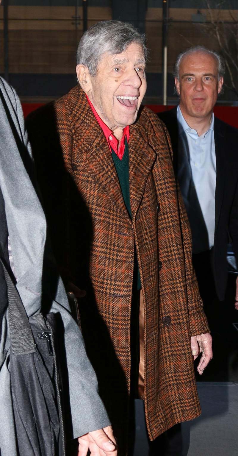 Frail Jerry Lewis Fights At 90 To Push Final Films ...
