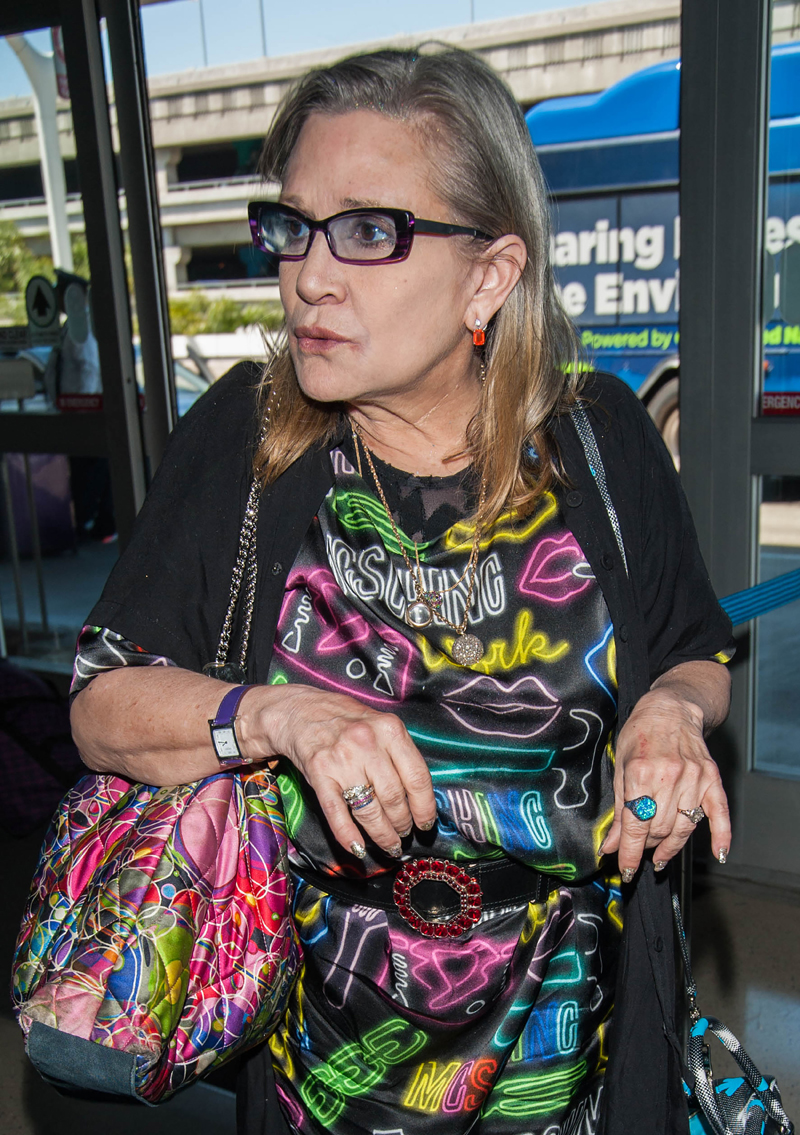 Carrie Fisher — Anorexia Fears Over 'Star Wars' Pressure ...