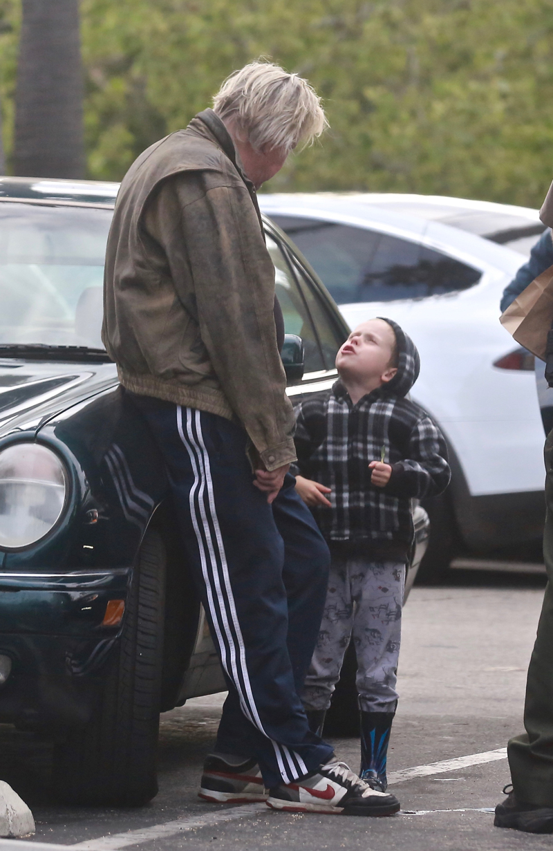 Wildman Gary Busey Tamed By His 6-Year-Old Kid — PHOTOS ...