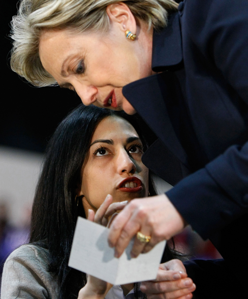huma lesbian personals Hillary clinton isn't just caught in a political scandal over her missing emails from her stint as secretary of state – she's also terrified of personal revelations about a secret lesbian lifestyle.