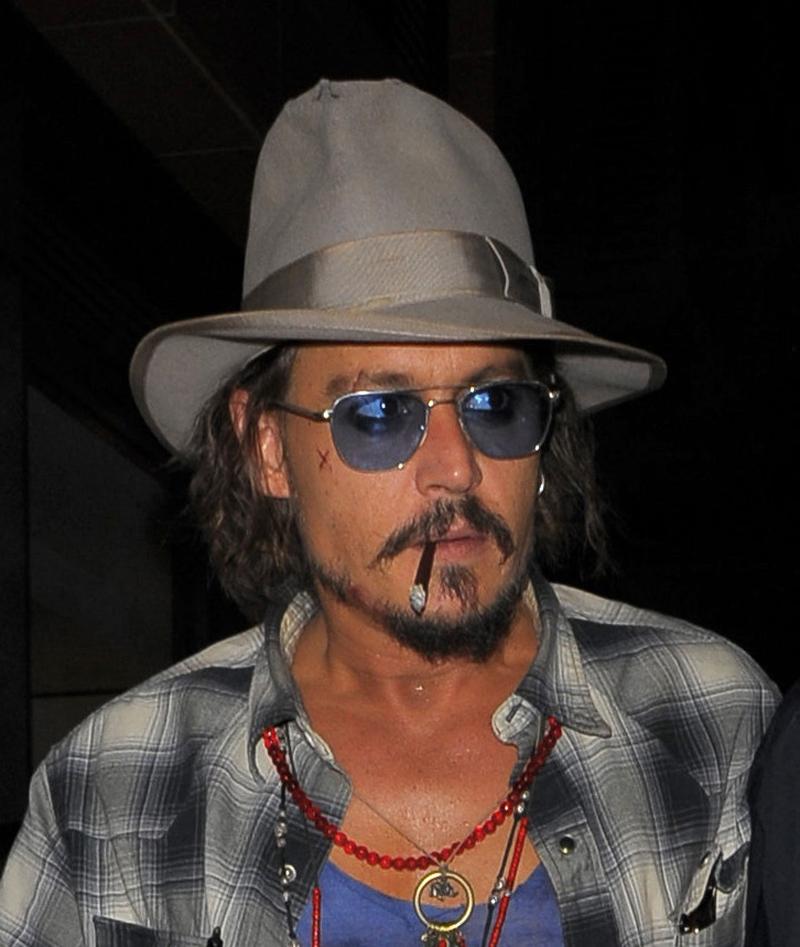 Johnny Depp's Bizarre History Of Self-Harm | National Enquirer