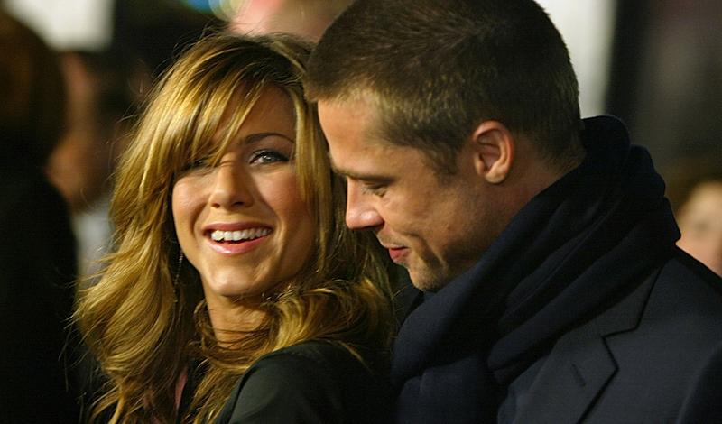 Brad Pitt & Jennifer Aniston — Hotel Room Rendezvous ...