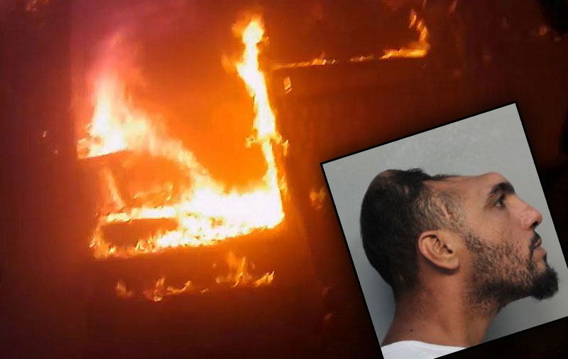 Half-Headed Man Busted For Full-On Arson | National Enquirer