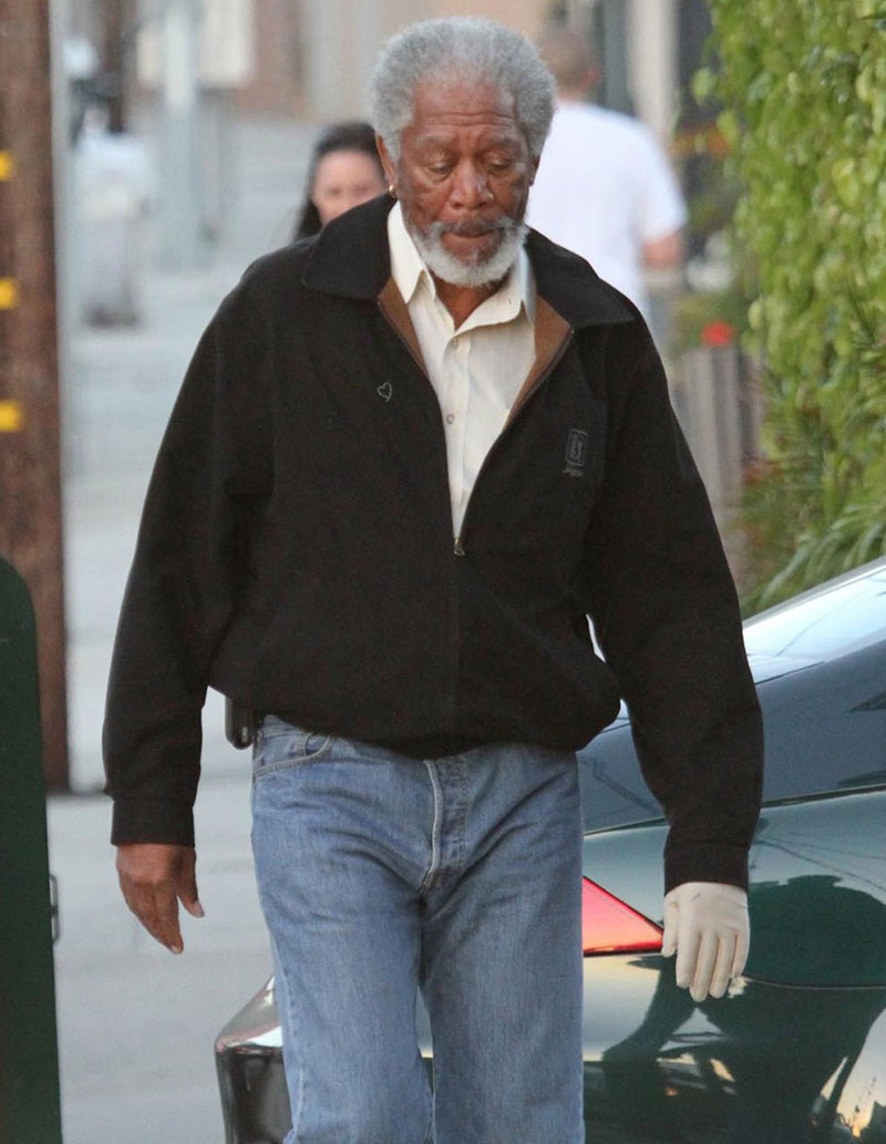 Morgan freeman accident morgan freeman hand injury ...