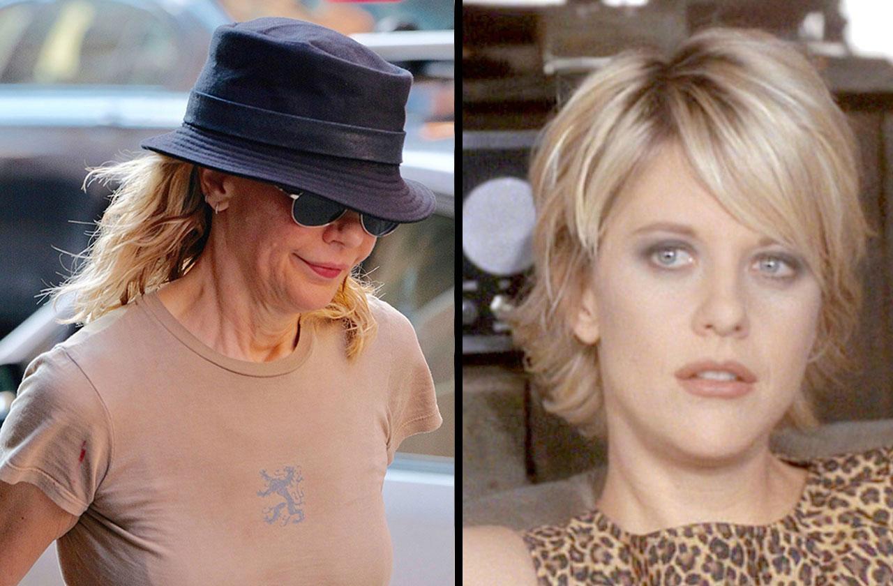 Meg Ryan Shocking New Photos Amid Plastic Surgery Claims