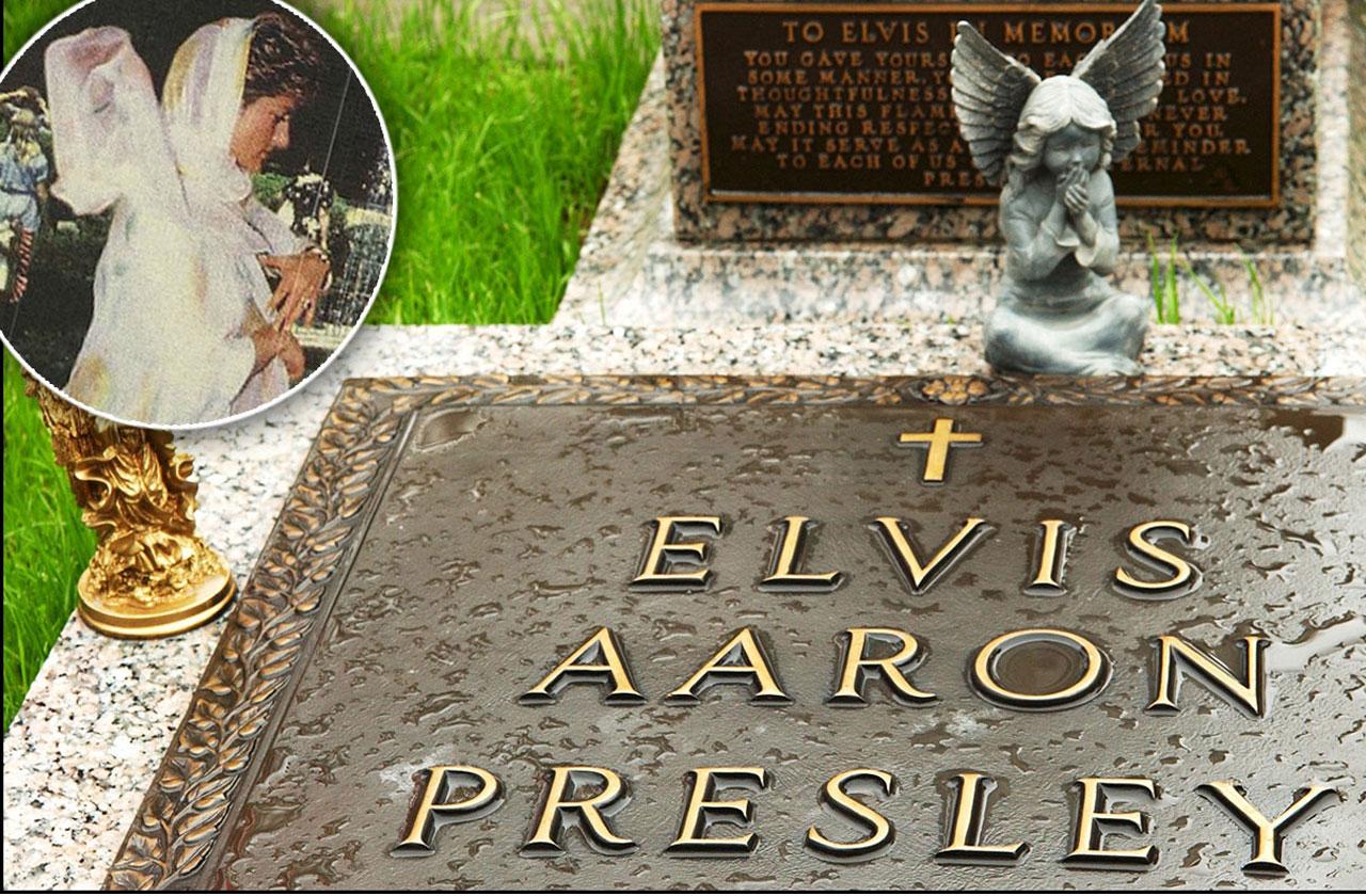 Princess Diana 39 S Secret Trip To Elvis Presley 39 S Grave