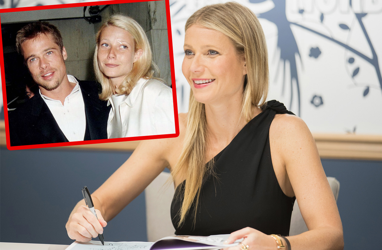 Gwyneth Paltrow's Secret Coded Message To Brad Pitt