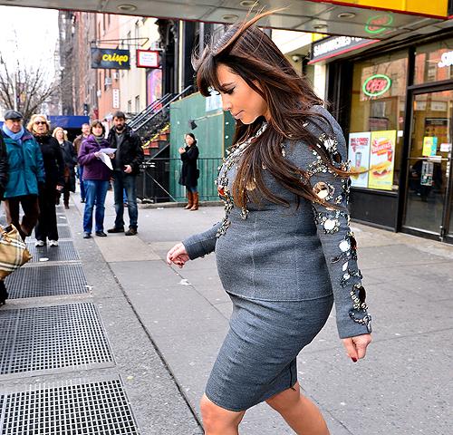 12 Celeb Baby Names Gone Wild Literally: EXCLUSIVE: INSIDE KIM K'S BIZARRO BABY BUMP