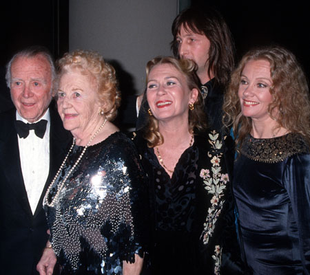 The Mills family in 1994