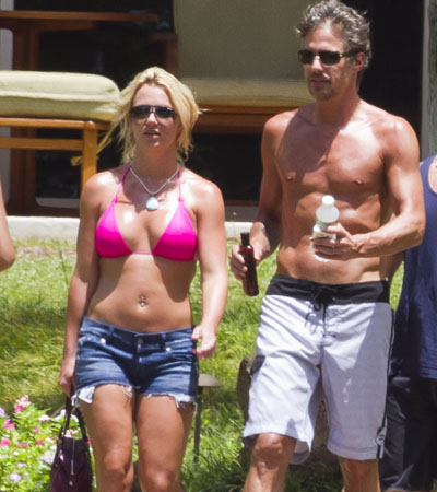 Britney Spears and boyfriend Jason Trawick