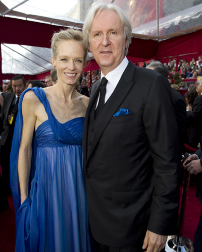 <i>Avatar</i> director James Cameron and his wife Suzy Amis