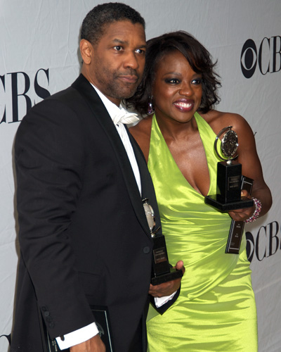 Denzel Washington and Viola Davis
