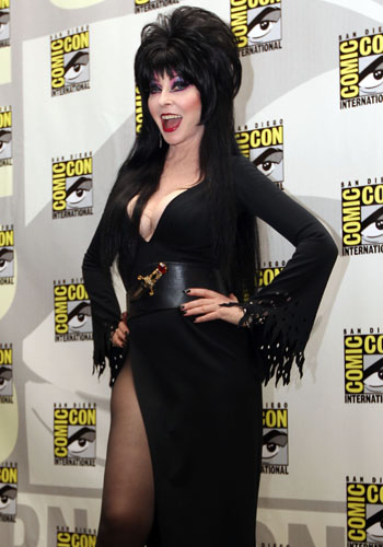 Cassandra Peterson, a.k.a. Elvira: Mistress of the Dark, announces a comeback show