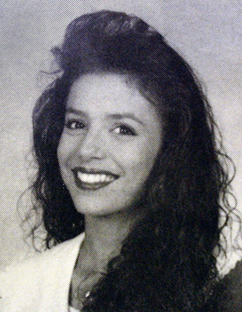 Eva Longoria's yearbook picture.