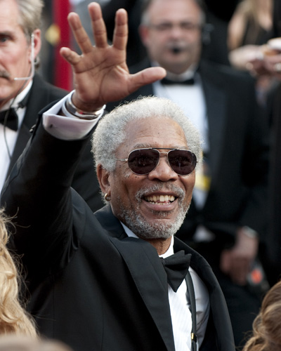 Nominee Morgan Freeman