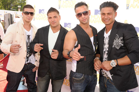 "<i>Jersey Shore</i>'s Vinny, Ronnie, Mike ""The Situation"" and Pauly D"