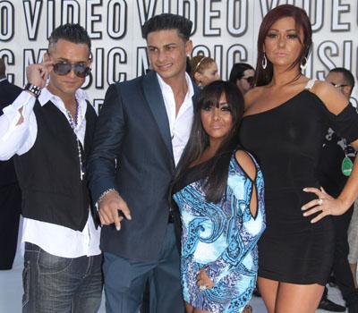 <i>Jersey Shore</i>'s Mike Sorrentino, Pauly DelVecchio, Nicole Polizzi and Jenni Farley