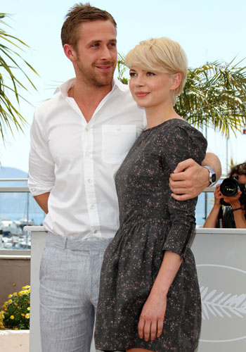 Ryan Gosling and Michelle Williams and the <i>Blue Valentine</i> photocall