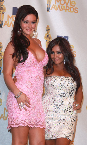 <i>Jersey Shore</i>'s J-WOWW and Snooki