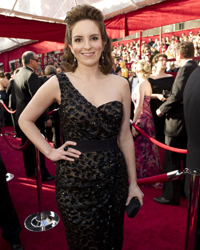 Presenter Tina Fey