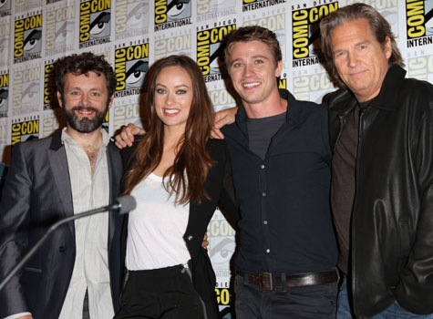 Michael Sheen, Olivia Wilde, Garrett Hedlund and Jeff Bridges promote <i>Tron Legacy</i>