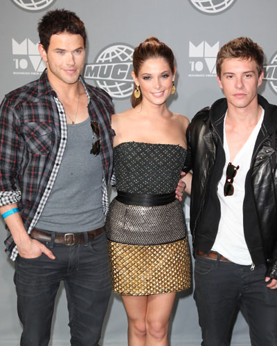 Kellan Lutz, Ashley Greene, Xavier Samuel