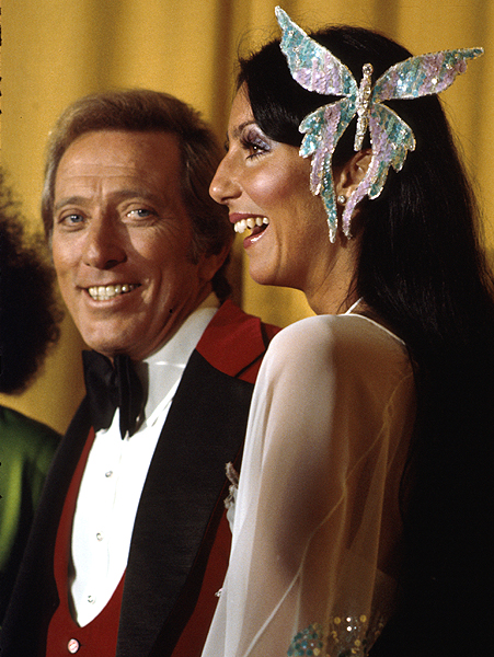 ANDY & CHER @ THE GRAMMYS