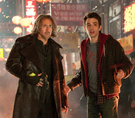 <i>The Sorcerer's Apprentice</i> stars Nicolas Cage and Jay Baruchel