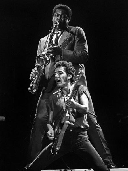 CLARENCE CLEMONS 1942-2011 stroke