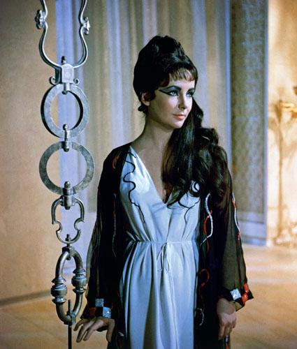 Elizabeth Taylor in 1963's <i>Cleopatra</i>.