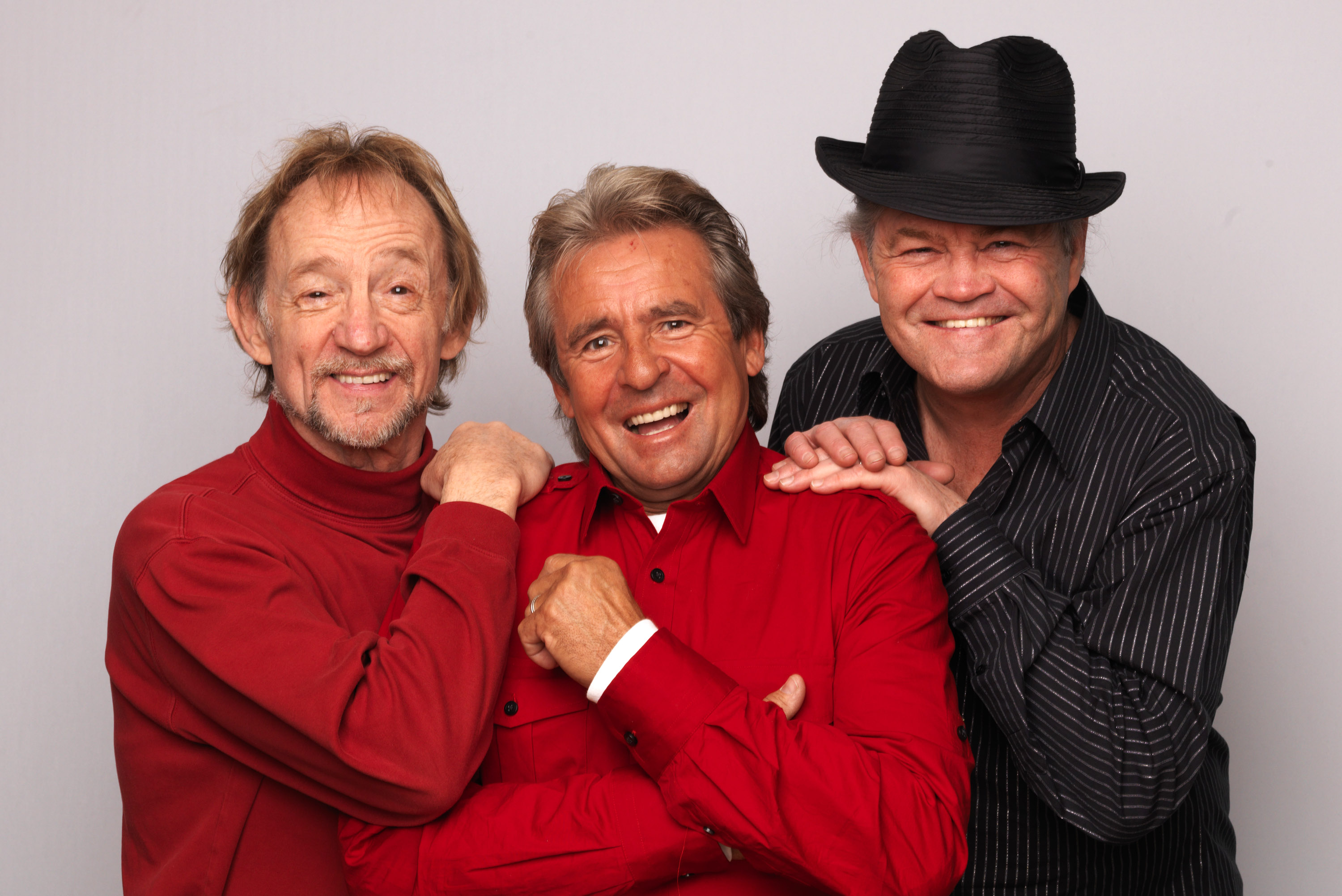 Davy Jones reunited with Peter Tork and Micky Dolenz in 2011 to clebrate the band's 45th anniversary tour.