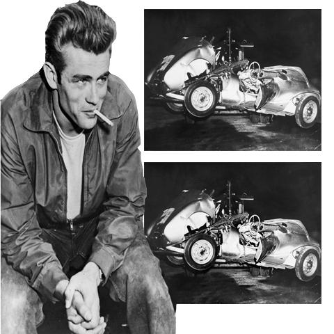 3. James Dean's death car was cursed