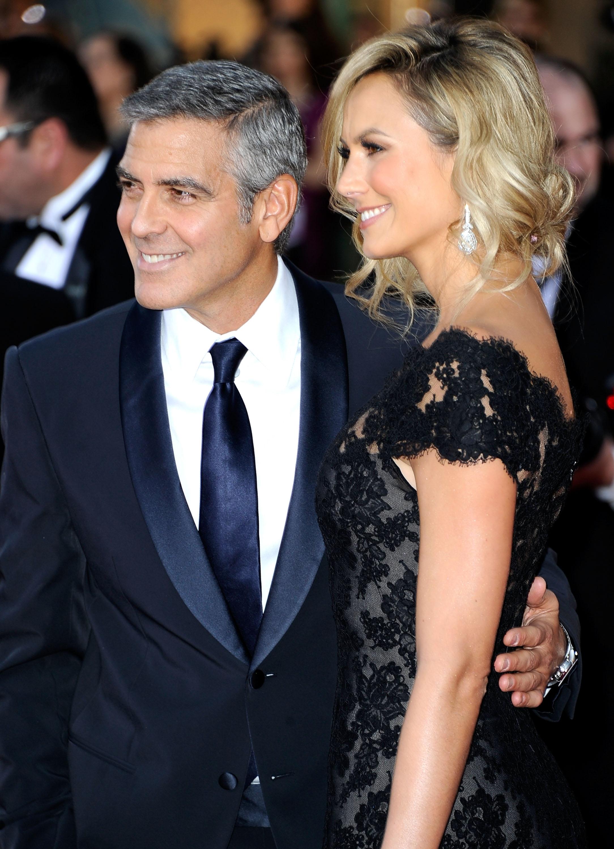 George Clooney & Stacey Keibler