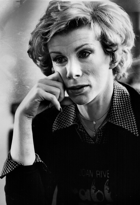 Portrait of a Young Joan Rivers