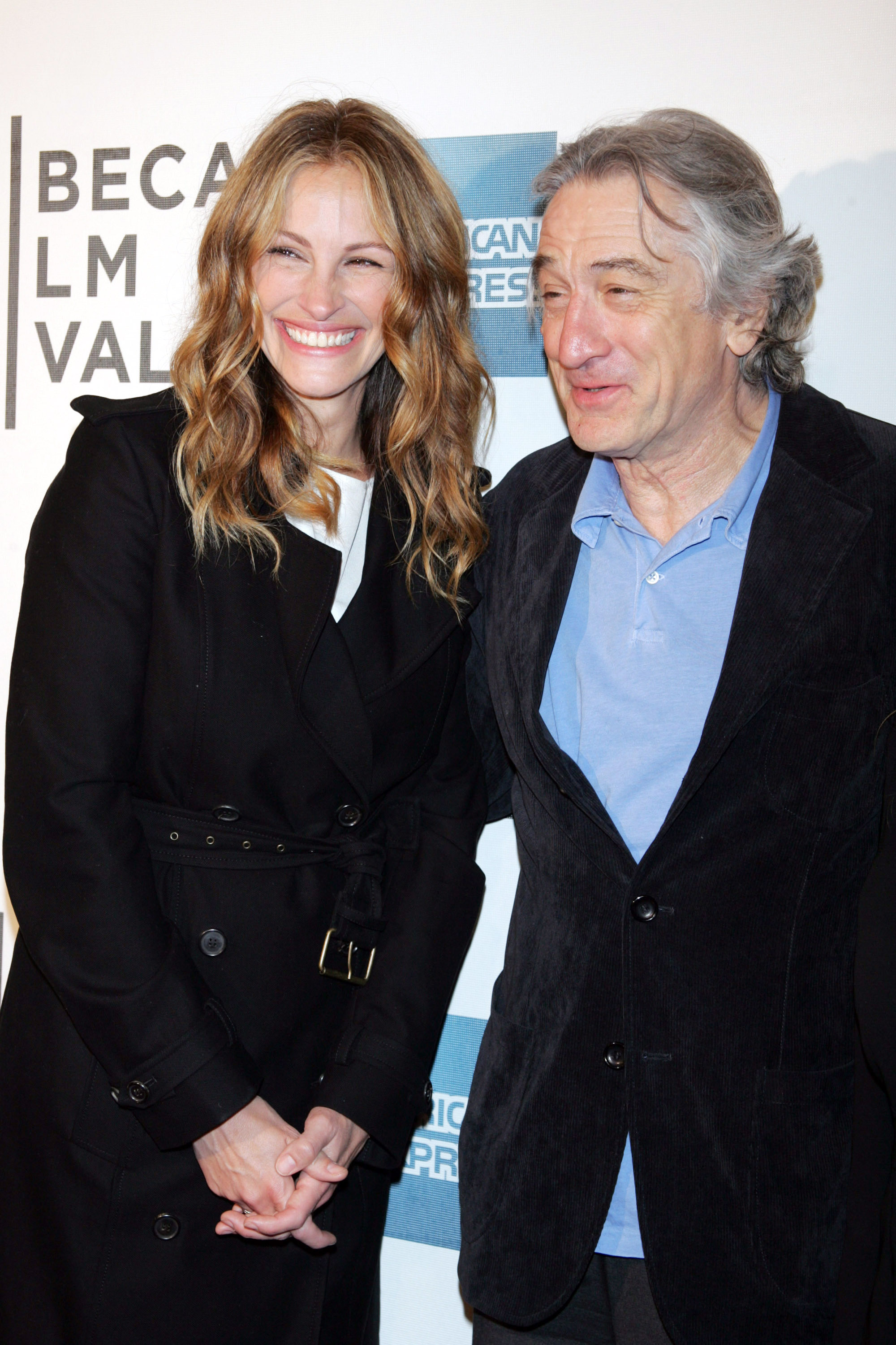 Julia Roberts and Robert Deniro at the premiere of <i>Jesus Henry Christ</i>