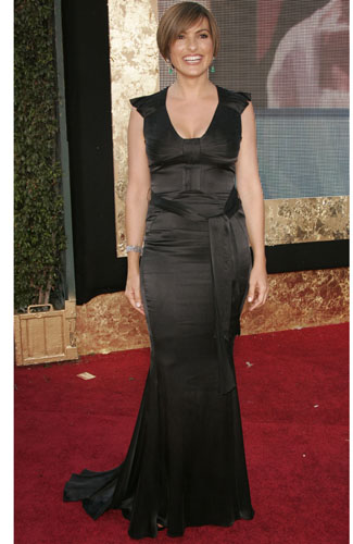 Mariska Hargitay at the 59th annual Primetime Emmy Awards.