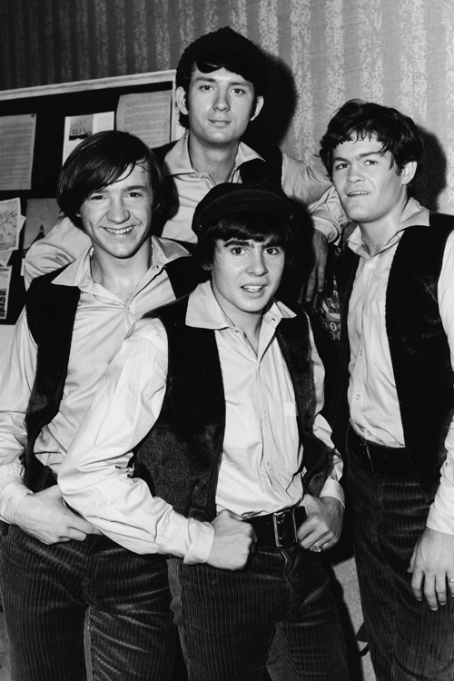 The Monkees (Peter Tork, Michael Nesmith, Davy Jones and Mickey Dolenz) in 1967.