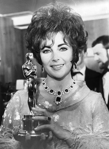 Elizabeth Taylor won the Oscar for <i>Who's Afraid of Virginia Woolf?</i> in 1967.
