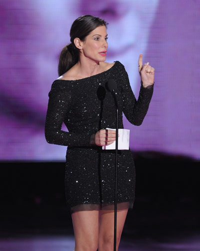 Sandra Bullock accepts MTV Generation Award