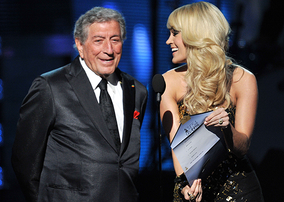 TONY BENNETT, CARRIE UNDERWOOD