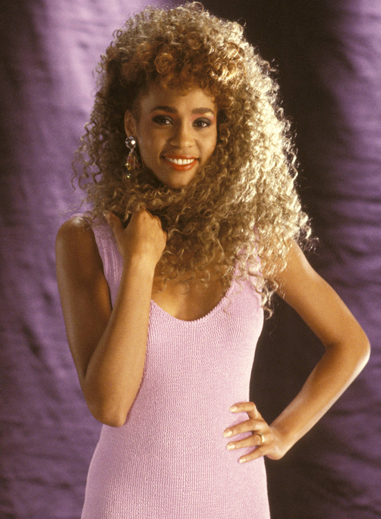 Whitney in 1987